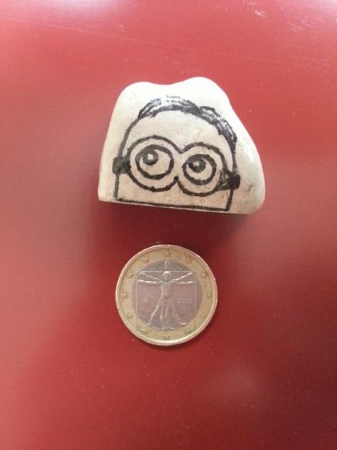 Half Minion - Magnet
