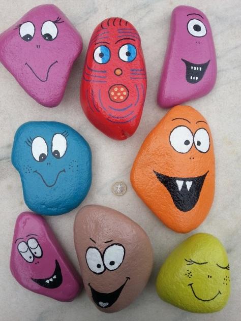 New Monsters - Garden Stones
