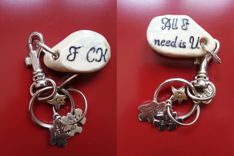 F CK All I need is U - Keychain.jpg
