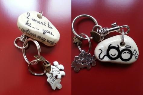 I want to ki__ you - Keychain