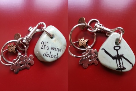 It's wine o'clock - Keychain.jpg