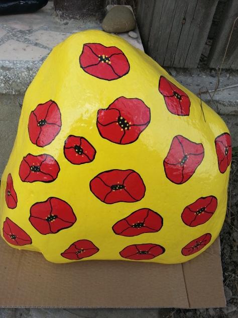 Poppies on Big Yellow Stone.jpg