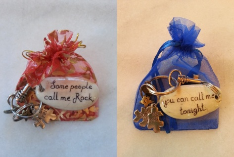 Some people call me Rock, you can call me tonight - Keychain